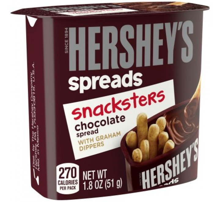 Hershey's Spreads Snacksters Chocolate With Graham Dippers (51g)