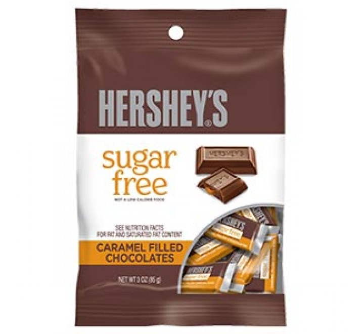 Hershey's Sugar Free Caramel Filled Chocolates (85g) USfoodz