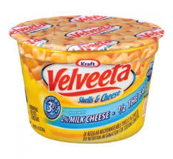 Kraft Velveeta Shells & Cheese Cup 2% Milk