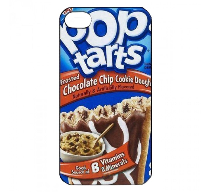 PopTarts Chocolate Chip Cookie Dough Iphone 5 Case