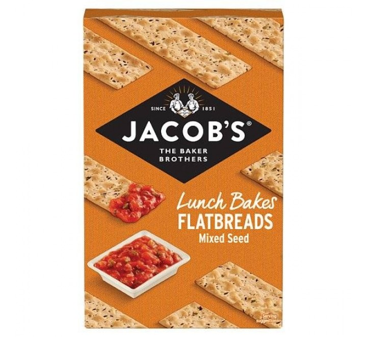 Jacob's Flatbreads Mixed Seed Crackers (150g)