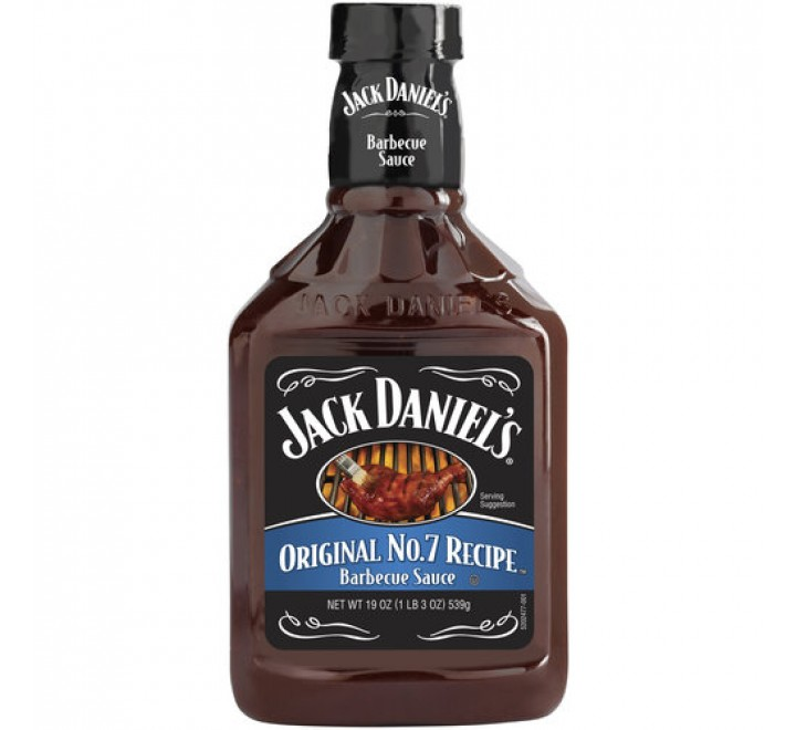 Jack Daniel's Barbecue Sauce, Original No.7 Recipe (539g)