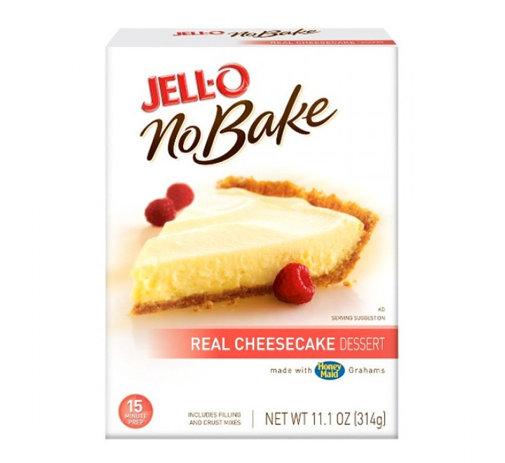Jell-O No-Bake Real Cheesecake Dessert (314g) USfoodz