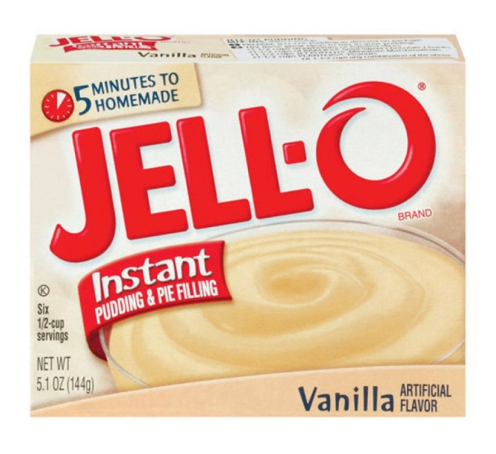 Jell-O Cook & Serve Vanilla Pudding & Pie Filling (144g)