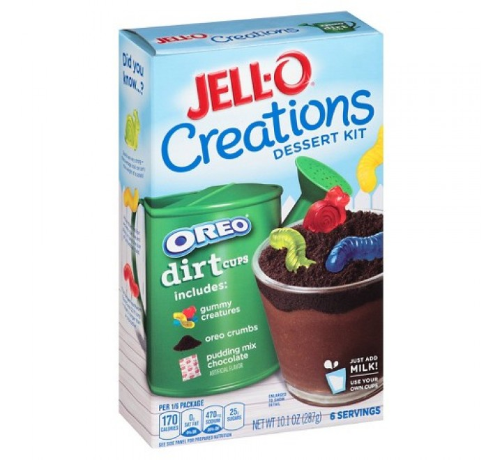 Jell-O Creations Dessert Kit Oreo Dirt (287g)