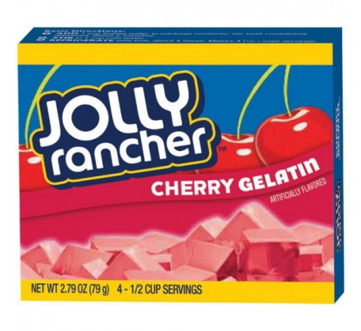 Jolly Rancher Cherry Gelatin (79g)