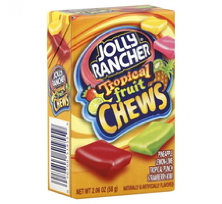 Jolly Rancher Tropical Fruit Chews Box  (58g)