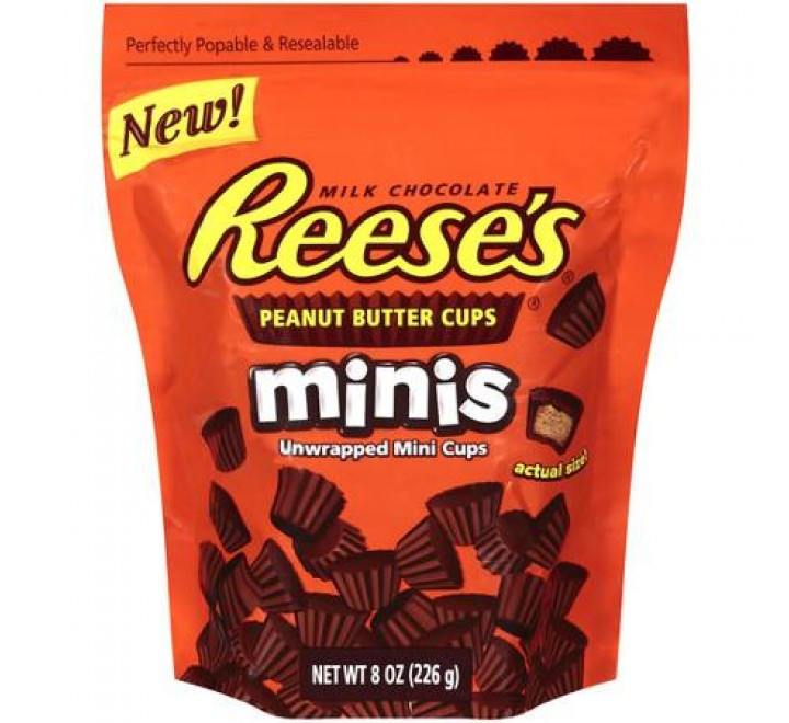 Reese's Peanut Butter Cup Dark Chocolate Miniatures Stand Up Bag (340g)