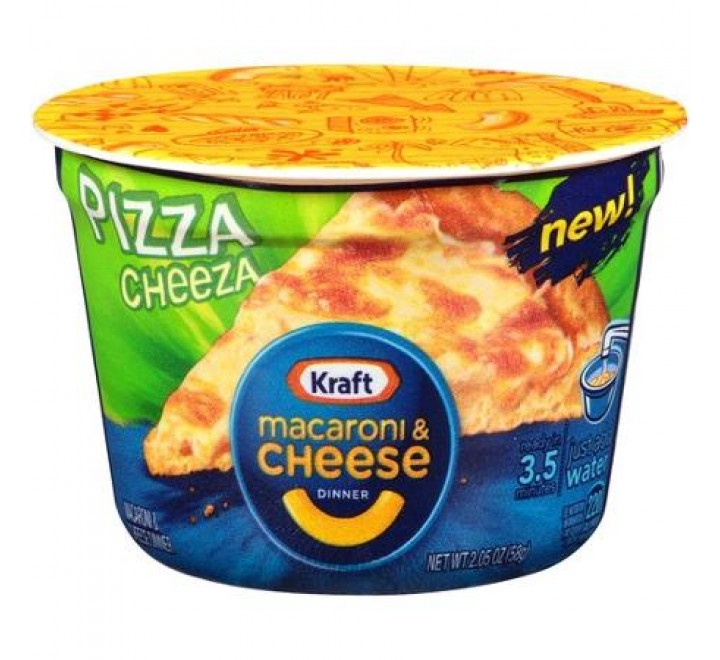 Kraft Pizza Cheeza Macaroni & Cheese Dinner (58g)