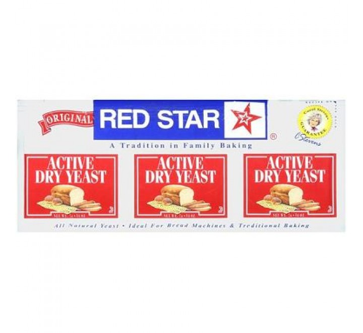 Red Star Active Dry Yeast 3 Pack