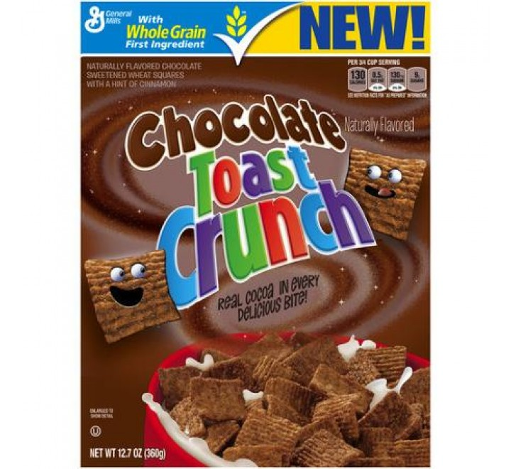 Chocolate Toast Crunch Cereal (360g)