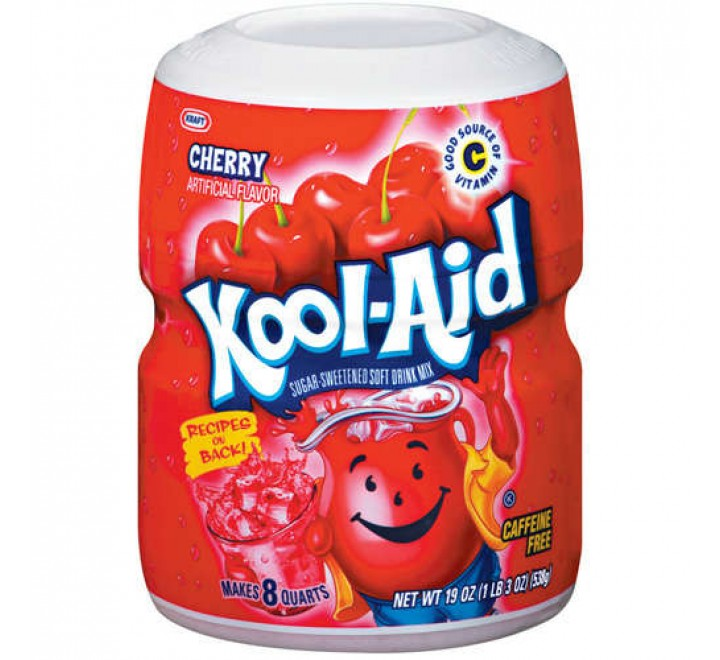 Kool-Aid Cherry Drink Mix (538g)