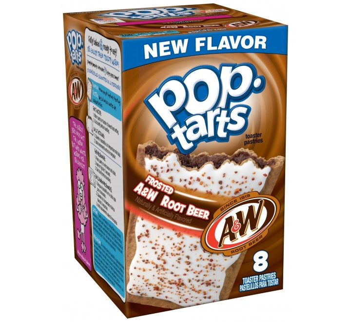 Kellogg's PopTarts Frosted A&W Root Beer (400g)