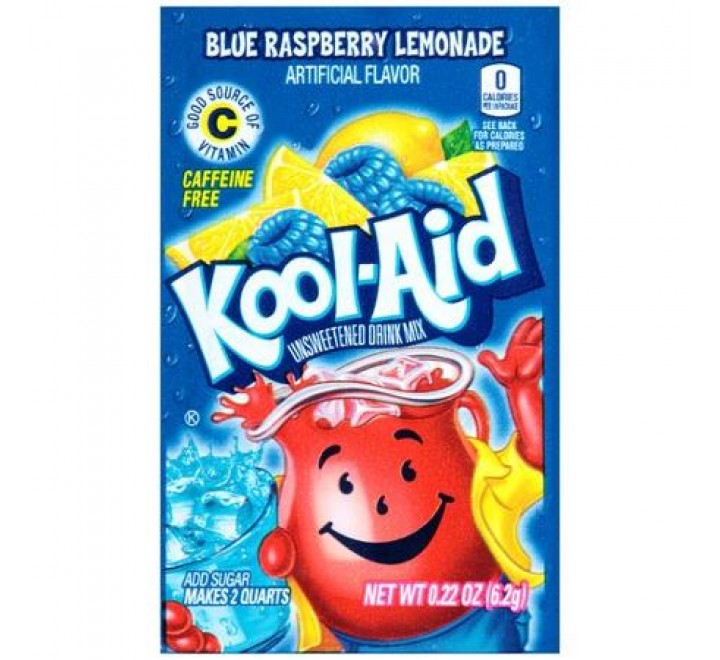 Kool-Aid Blue Raspberry Lemonade (6g)
