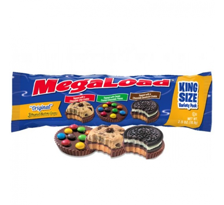 Megaload Original King Size Variety Pack (70g) USfoodz
