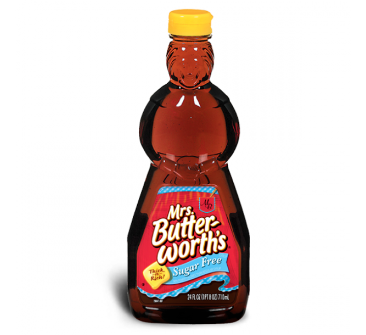 Mrs. Butterworth's Sugar Free Syrup (710ml)