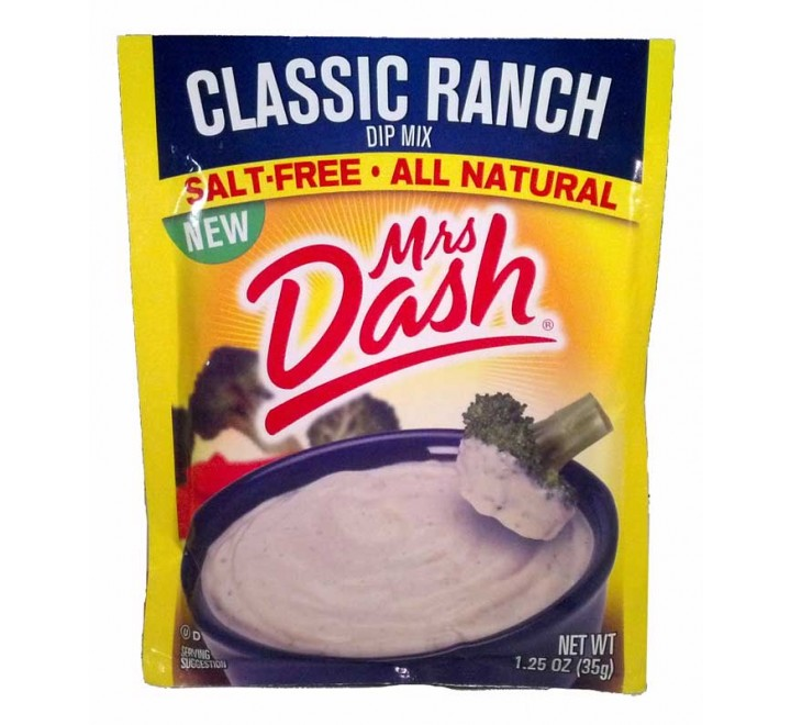 Mrs. Dash Salt-Free Classic Ranch Dip Mix (35g)