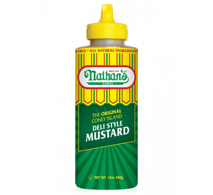 Nathan's Famous Deli Style Mustard (340g)