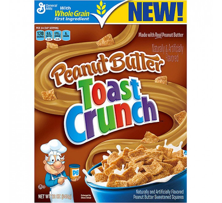 Peanut Butter Toast Crunch Cereal (340g)