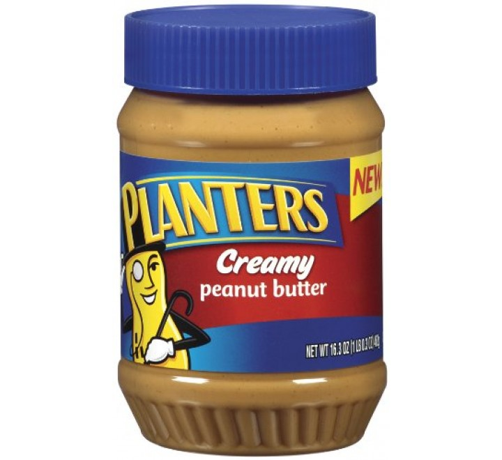 Planters Creamy Peanut Butter (462g)