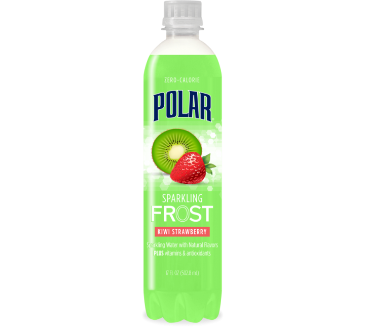 Polar Sparkling Frost Kiwi Strawberry (502ml) USfoodz