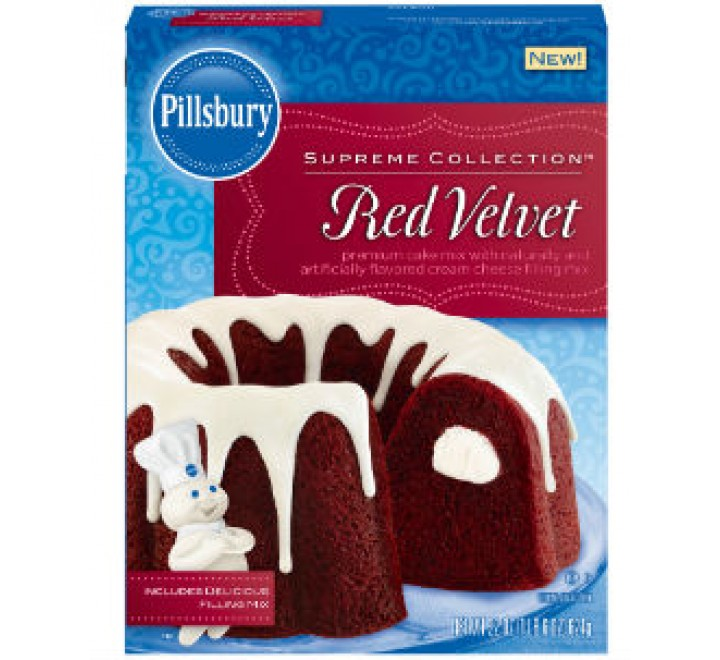 Pillsbury Red Velvet Cake Mix (624g)