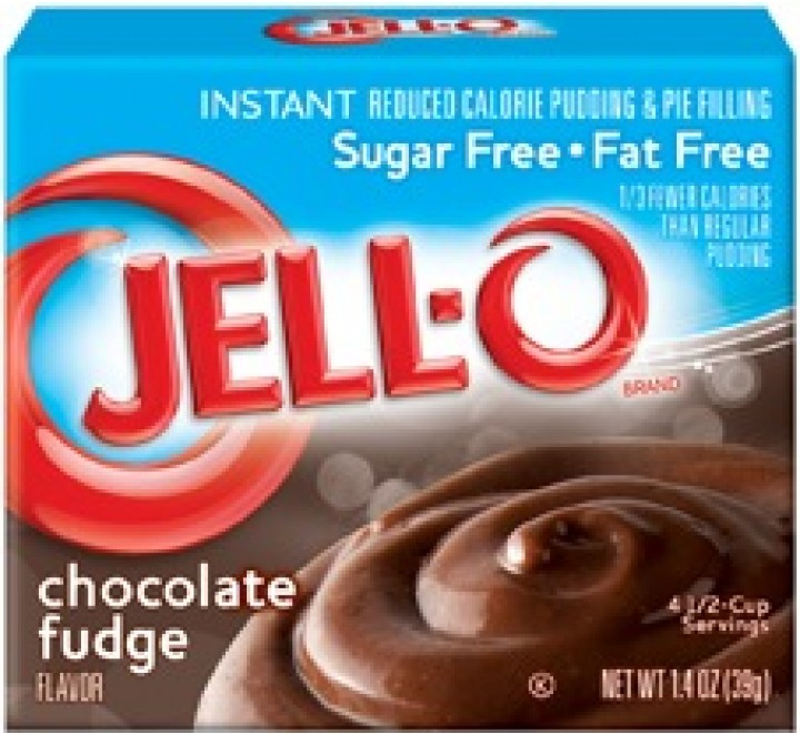 Jell-O Sugar & Fat Free, Instant Pudding & Pie Filling, Chocolate Fudge (39g)