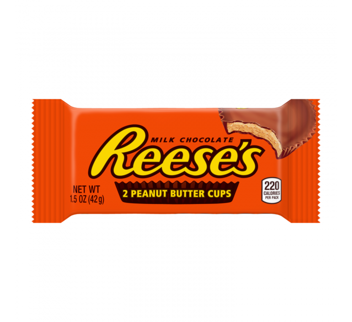 Reese's 2 Peanut Butter Cups Milk Chocolate (42g)