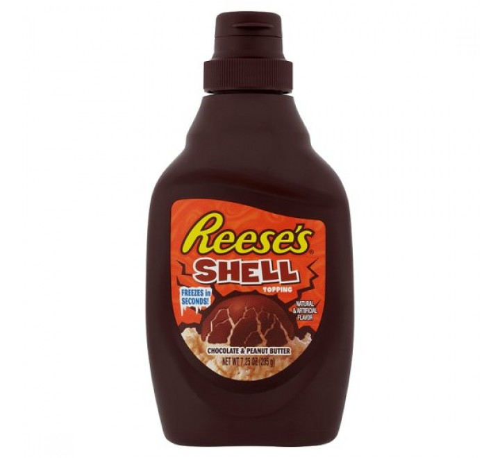Reese's Shell Topping Chocolate & Peanut Butter (205g)