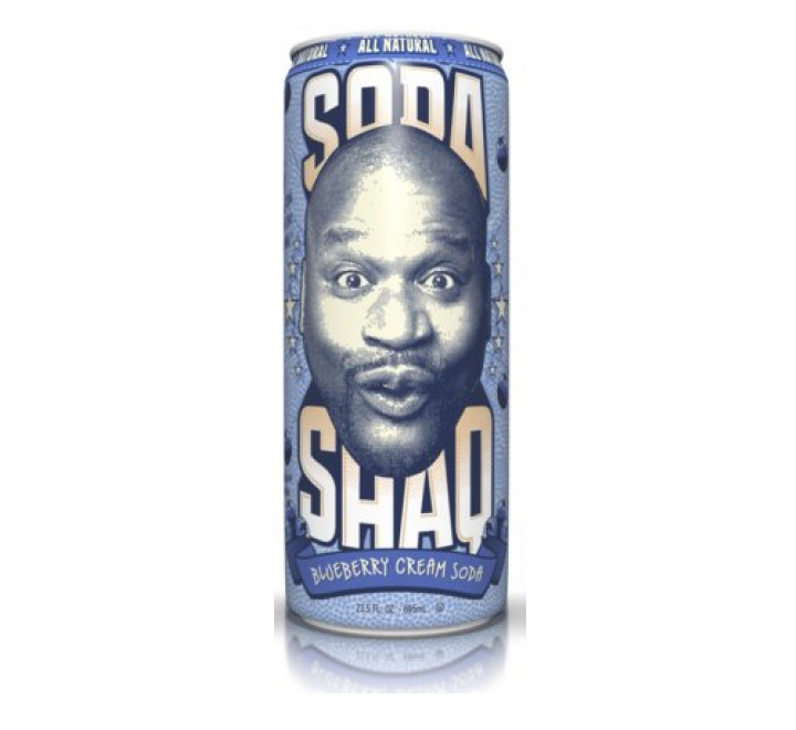 Arizona Soda Shaq Blueberry Cream Soda (695ml)