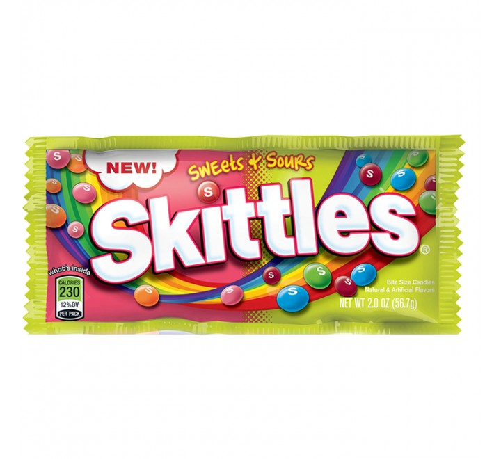Skittles Sweets & Sours (56g)