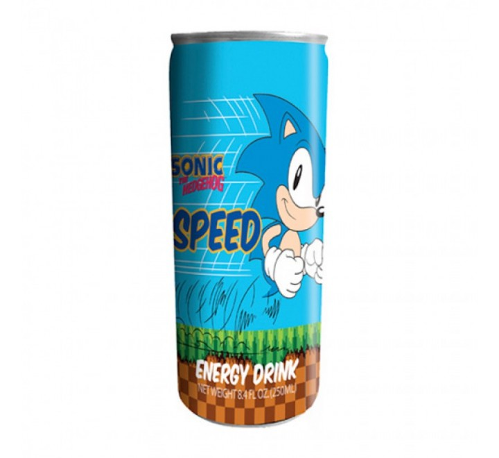 Sonic the Hedgehog Speed Energy Drink (248ml)