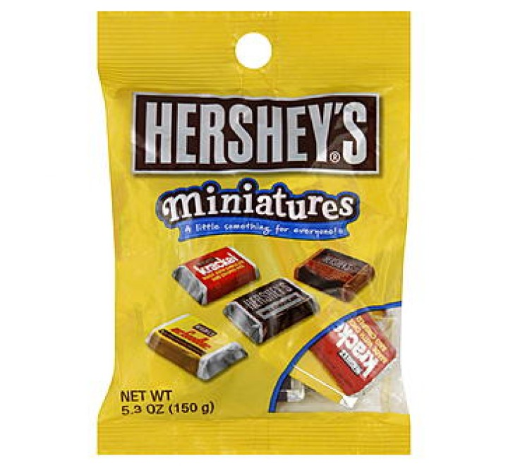 Hershey's Miniatures Bag (150g) (BEST-BY DATE: 05-2021)