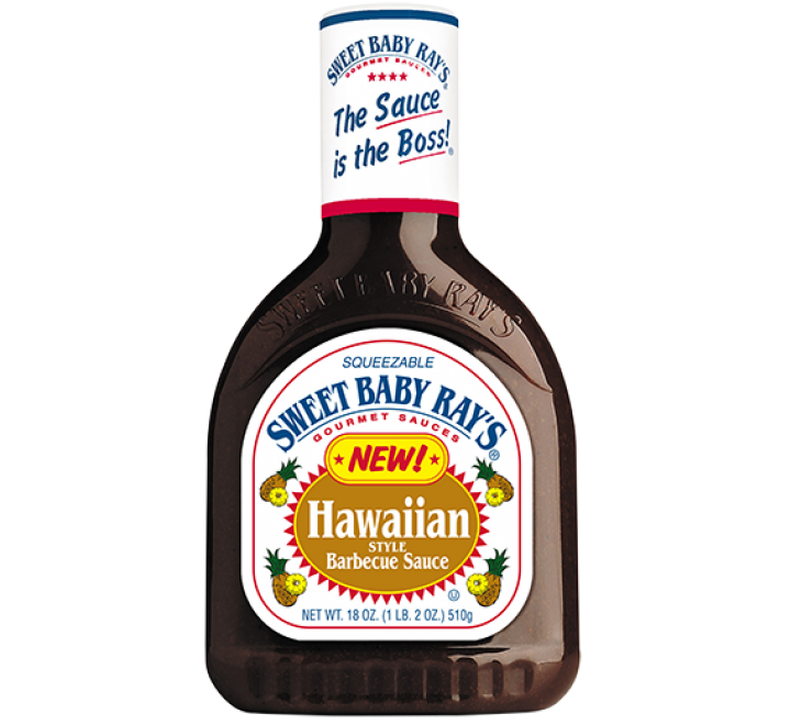 Sweet Baby Ray's Hawaiian Style Barbecue Sauce (510g)