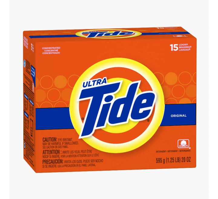 Tide Ultra Original Scent Powder, 15 loads (595g)
