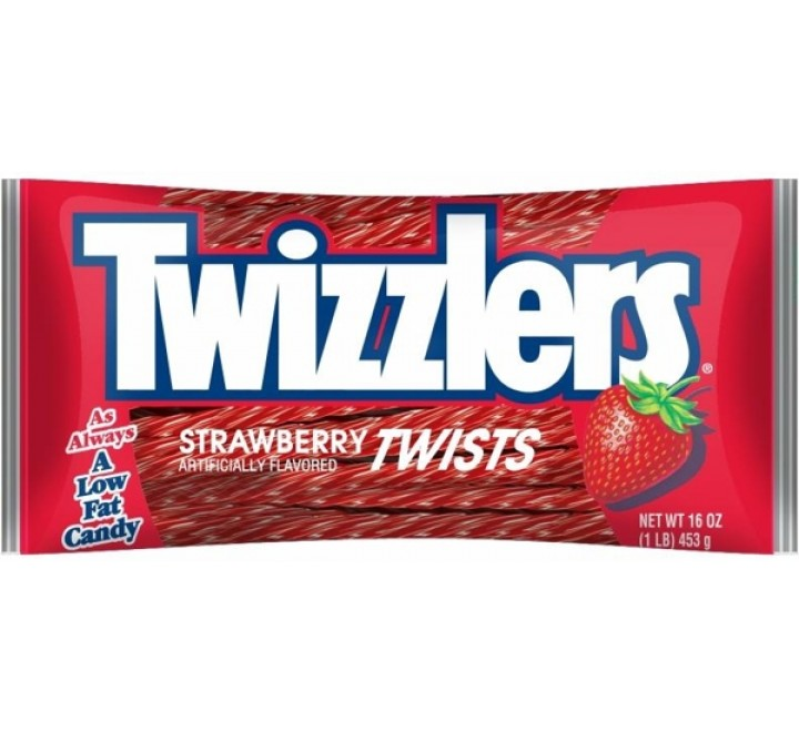 Twizzlers Twists, Strawberry XL Bag (907g)