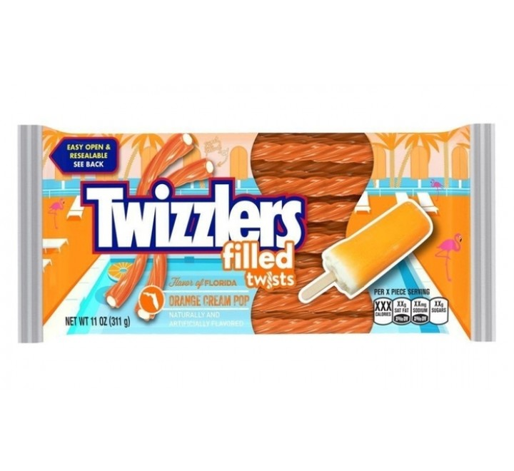 Twizzlers Twists, Orange Cream Pop (311g)