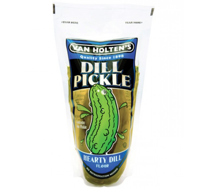 Van Holten's Dill Pickle Hearty Dill Flavor USfoodz