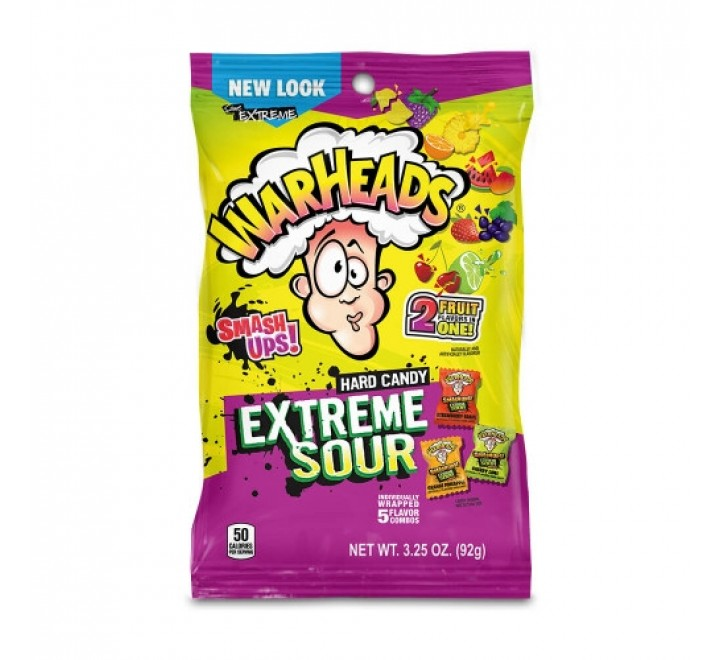 Warheads Extreme Sour, Candy (92g)