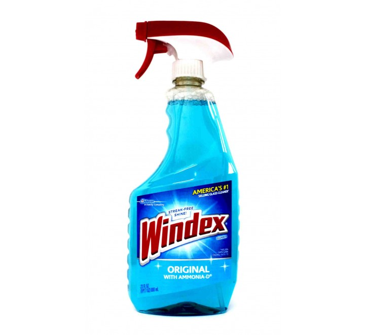 Windex Original Glass Cleaner with Ammonia-d Cleaner (680ml)