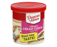 Duncan Hines Frosting, Cream Cheese (454g)
