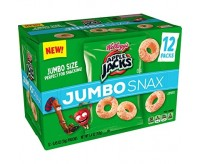 Apple Jacks Jumbo Snax, (12-Pack Box) (153g)