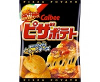 Calbee Potato Chips, Pizza Potato (63g)
