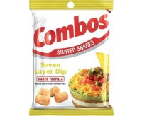 Combos Stuffed Snacks, Seven Layer Dip Baked Tortilla (178g)