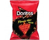 Doritos Flamin' Hot - Nacho Cheese, small bag (92g)