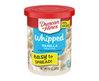 Duncan Hines Whipped Vanilla Frosting (397g)