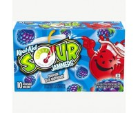 Kool-Aid Jammers, Sour Shockin' Blue Raspberry, Single Pouch (177ml)
