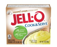 Jell-O Coconut Cream, Instant Pudding & Pie Filling (96g)