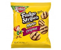 Keebler Fudge Stripes Minis Original, Bag (56g)