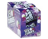 Ice Breakers Ice Cubes Sugar Free Arctic Grape Gum 40 Pieces
